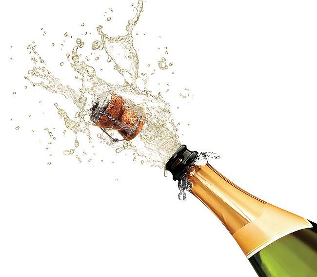 Champagne Popping Cork